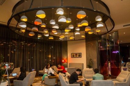 Lobby Lounge of Avangio Hotel