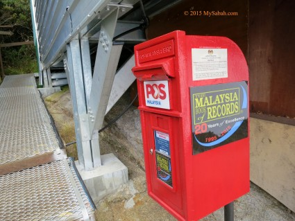 The Highest Post Box of Malaysia (and South East Asia)