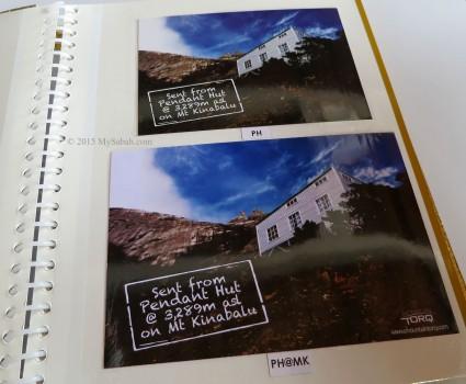 Postcards of Pendant Hut
