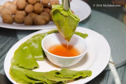 Sabah Tea Pancakes