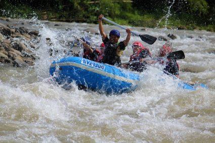 rapid in Kiulu River
