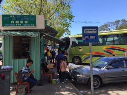 Bus terminal of Padang Merdeka Field