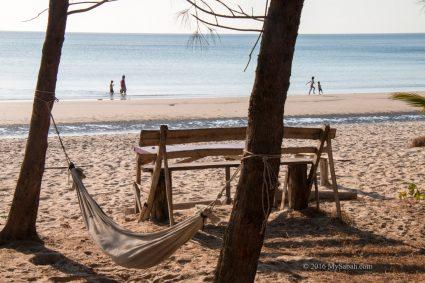 Beach at Secret Cafe Place