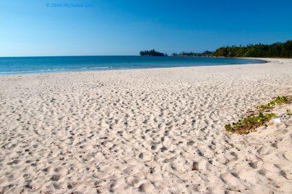 Bawang Jamal Beach (or Pantai Bawang Jamal in local language)