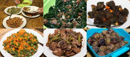 Fresh organic food in Kiulu Farmstay