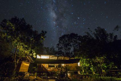 Milky Way in Kiulu