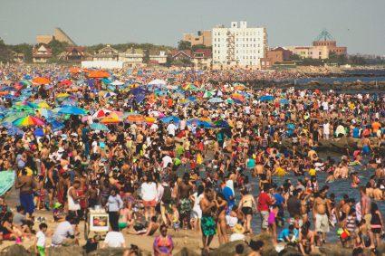 Photo of Coney Island Beach by Michael Candelori