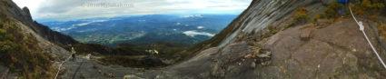 Panoramic view from Kota Belud Trail