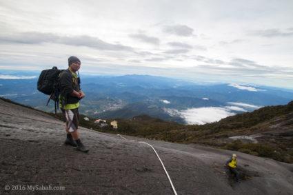 Granite rock trail of Kota Belud Trail