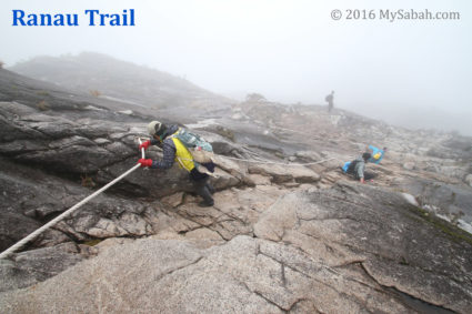 The most difficult part of Ranau Trail