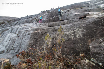 The most challenging part of Kota Belud Trail