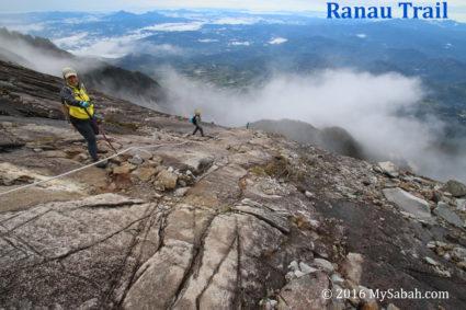 Descending via Ranau Trail