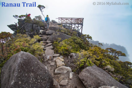 Aki Point on Ranau Trail