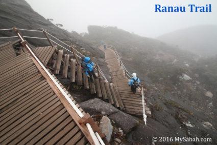 Staircase on Ranau Trail