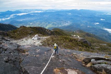 Nice open view at Kota Belud Trail