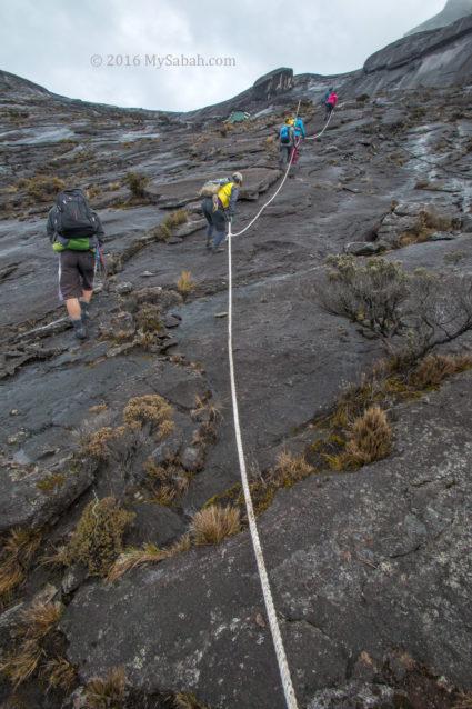 Kota Belud Trail ends at Sayat-Sayat