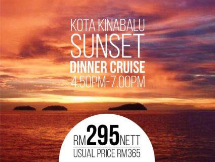 Sunset Cruise promotion by North Borneo Cruises