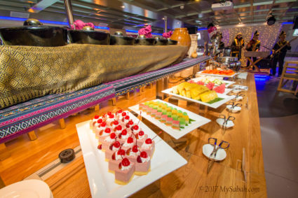 food and music onboard