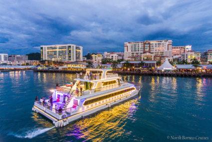 Sunset cruise by North Borneo Cruises