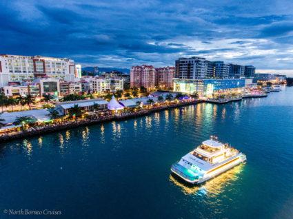 Sunset Cruise along coastal area of Kota Kinabalu City
