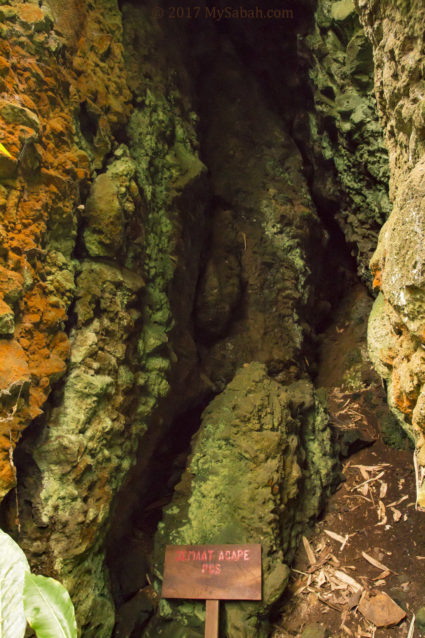 A small cave outside Bat cave