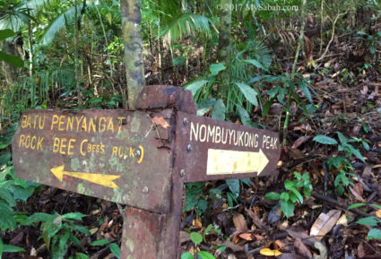 Second junction to Mount Nombuyukong