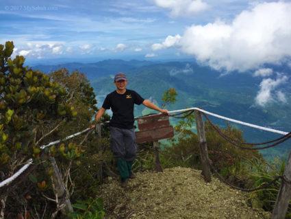 summit of Mount Nombuyukong