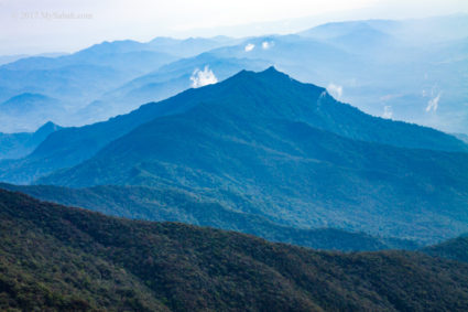 View of Nombuyukong Peak from Mt. Tambuyukon