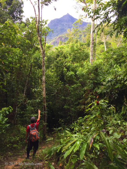 Mt. Nombuyukong 6.5 KM away