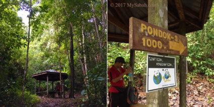 Gazebo No.2: Pondok Seraya, 1,000 Meters to gazebo No.3
