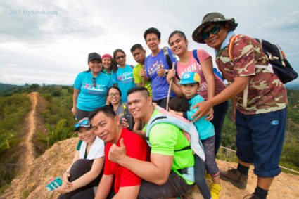Group photo on the highest point