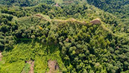 Aerial view of Bukit Lugas
