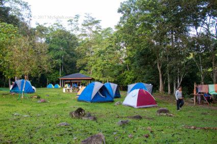 Camping ground of Serinsim