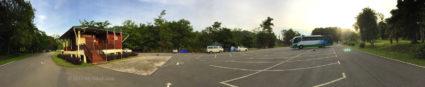 Sabah Parks office and car park of Serinsim (Sorinsim)