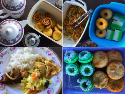 food served in Malubang Homestay