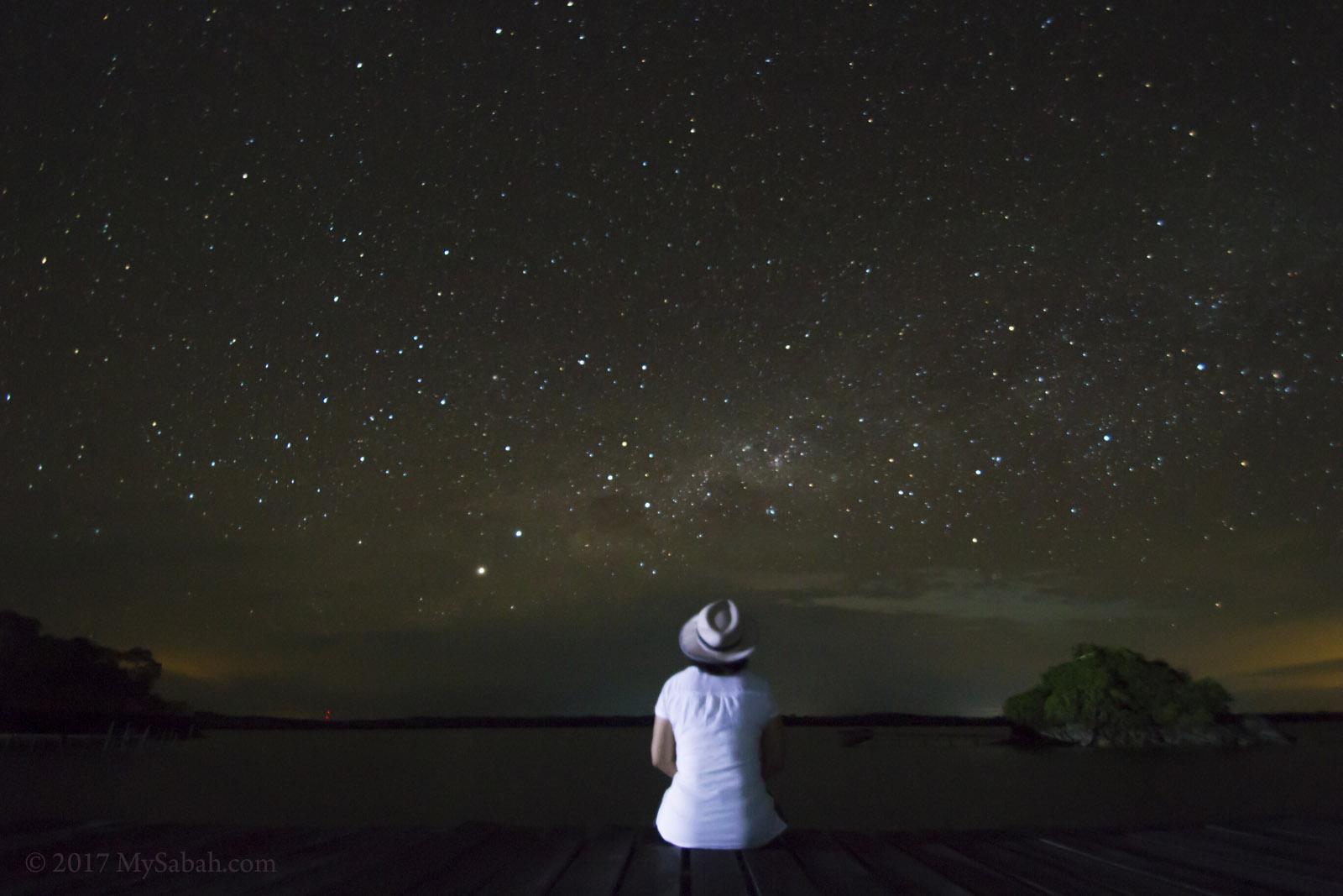 stargazing in Pitas