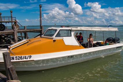 boat to Libaran