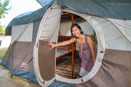 glamping on Libaran Island