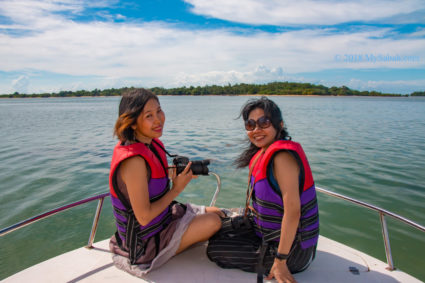Approaching Libaran Island