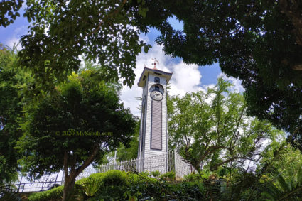 The hundred-year-old Atkinson Clock Tower