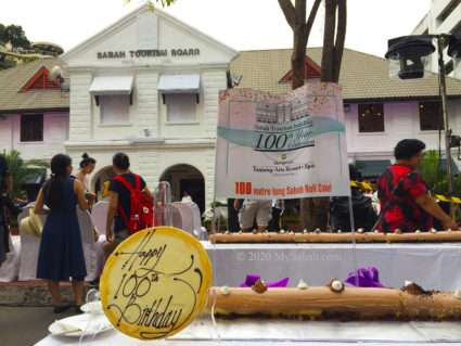 Happy 100th Birthday to Sabah Tourism Building