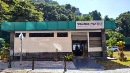Public Toilet next to Sabah Tourism building