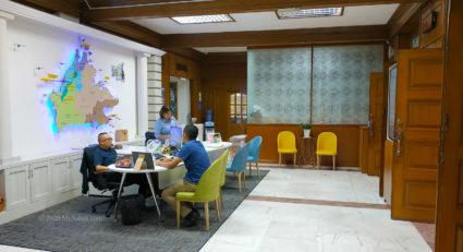 Tourist Assistant counter of Sabah Tourism Board