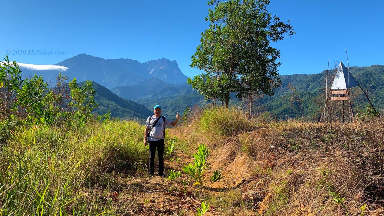 On the peak of Bukit Bendera