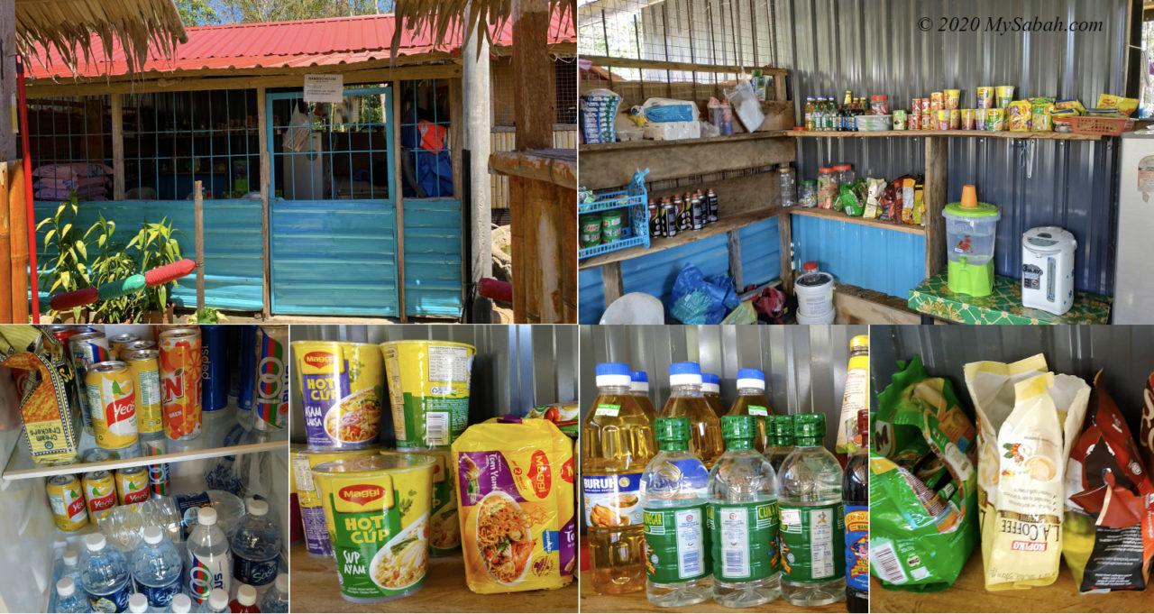 sundry shop of Tegudon Tourism Village
