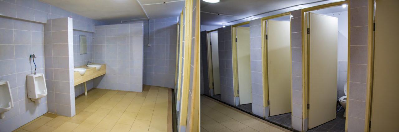 Shared toilet and bathroom of Hounon Ridge