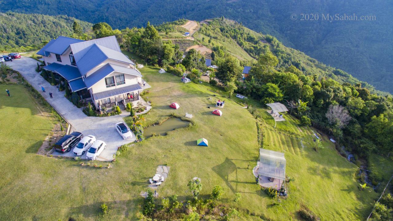 Hounon Ridge and camping ground