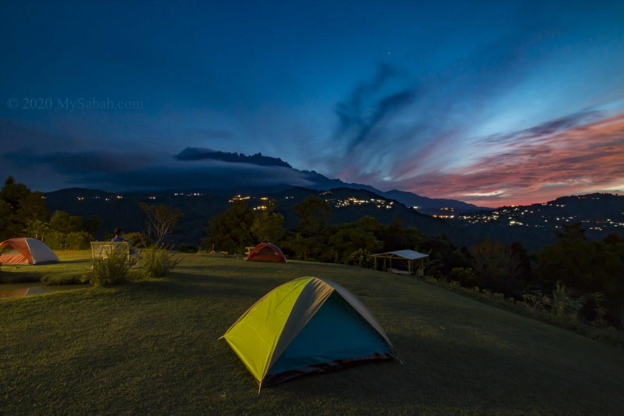 Dawn at Hounon Ridge