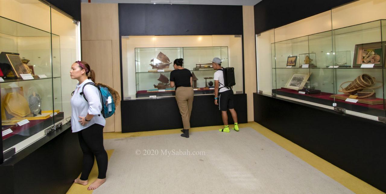 Tun Sakaran gallery in ground floor