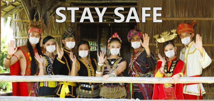 Sabah People with face mask